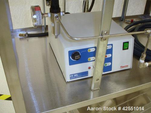 Used- Haake Twin Screw Extruder, Model MINILAB. Co-rotating conical screws, electrically heated, water cooled barrel, with T...