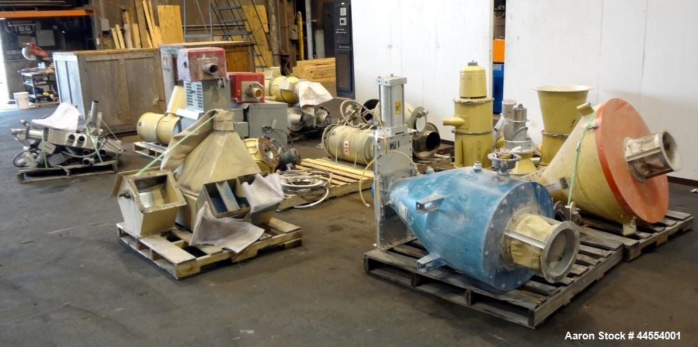 Used- Leistritz 99.6mm Co-Rotating Twin Screw Extruder, Model ZSE100GL/40D, serial# 3141, built 2002. Approximately 40 to 1 ...