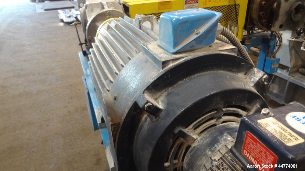 Used- Leistriz Twin Screw Extrusion Line