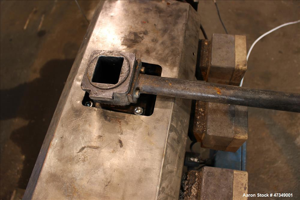 Used- Leistriz Twin Screw Extruder, Type ZSE 40 GL-28D, 40 mm diameter, 28:1 L/D
