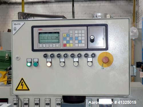 "Used- Leistritz Twin Screw Co-Rotating Compounding Extruder. Model ZSE LSM 34. Screw diameter 1.34"" (34 mm), 34 L/D, 390 rpm..."