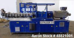 Used- Berstoff Twin Screw Extruder, type ZE 40Ax44D-UTX.