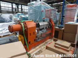 Used- Leistritz Coperation 70 mm Co-Rotating Twin Screw Extruder, Model ZSE 70/G