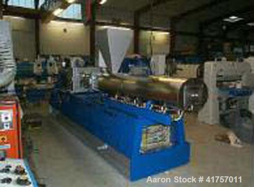 Unused-Plama ZSP 70 Twin Co-Rotating Screw Extruder