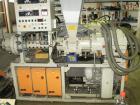 Used- Berstorff GE 90 KS 12-D Twin Screw Extruder. Maximum output 925 lbs, 420 kg/hour. Screw diameter 3.5
