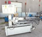 Used- Leistritz 34 mm Co-Rotating Twin Screw Extruder, Model LSM 30.34 GL/9R. Approximately 40 to 1 L/D ratio. Electrically ...