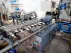 Used- Leistritz Twin Screw Co-Rotating Compounding Extruder. Model ZSE LSM 34. Screw diameter 1.34