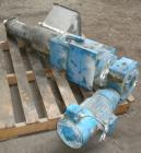 Used- Twin Screw Side Feeder, Approximately 76 mm (3