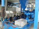 Used-Werner and Pfleiderer Model ZSK 120 Co-Rotating Twin Screw Extruder. Screw diameter 4.7