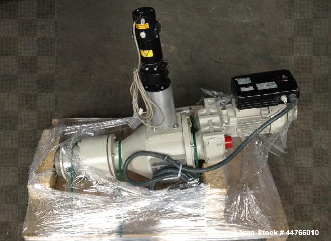 Used- Weber Twin Screw Extruder, Model DS 9.25 FE