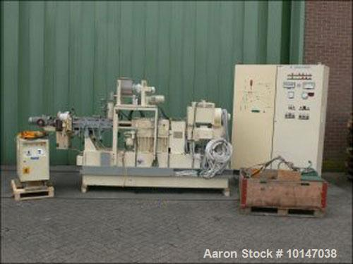 Used-Werner Pfleiderer Lab Size Twin Screw Extruder