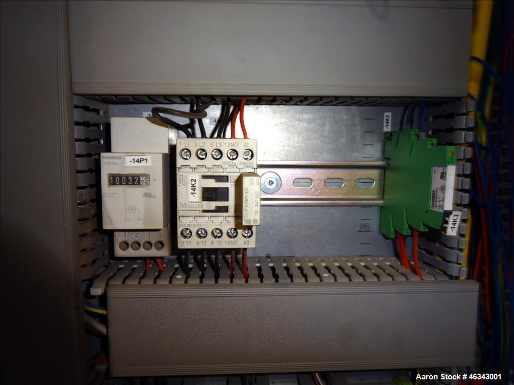 Used- Werner & Pfleiderer ZSK 120MM Twin Screw Extruder.