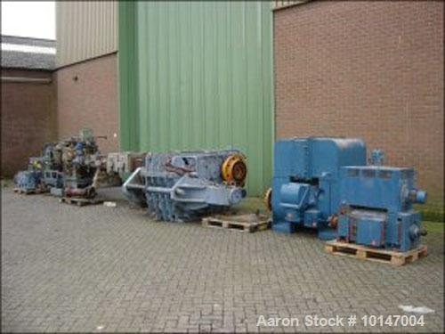 Used- Werner & Pfleiderer Double Screw Extruder, Type ZSK-170 W-1750 5G