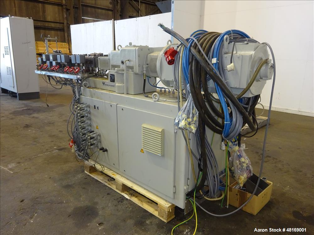 Used- Werner Pfleiderer 25mm Twin Screw Extruder, Type ZSK 25 P8.2 E.