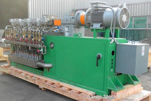 Used- Werner Pfleiderer 30mm Twin Screw Extruder, Type ZSK 30