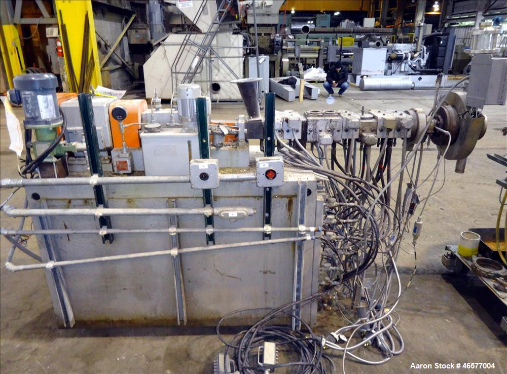 Used- Werner & Pfleiderer Corp. 30mm Twin Screw Extrusion Line
