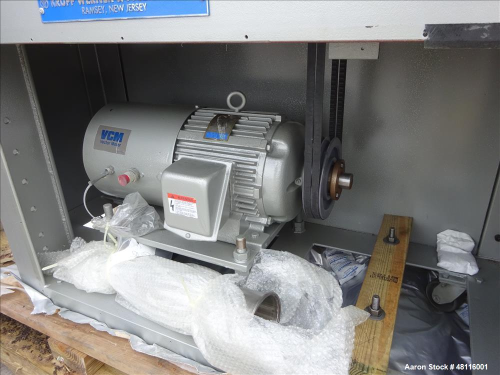 Unused- Werner & Pfleiderer ZSK 30 lab size twin screw extruder