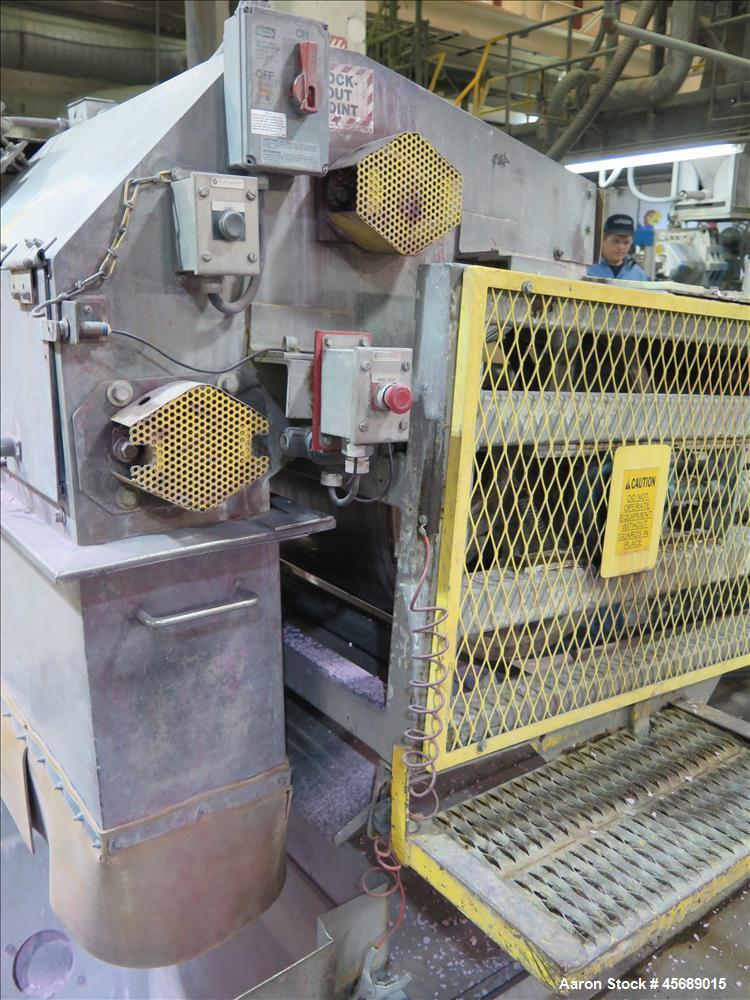 Used-Werner & Pfleiderer 58mm Twin Screw Extruder, Model ZSK-58, Serial # 180913.  75 HP DC motor.  Includes:  North America...