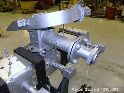 Used- Werner & Pfleiderer 70mm Twin Screw Extruder/ Compounder, Type ZSK 70W 175E. Co-Rotating intermeshing side by side scr...