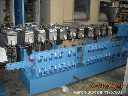Used-Werner Pfleiderer ZSK 83 Twin Screw Extruder