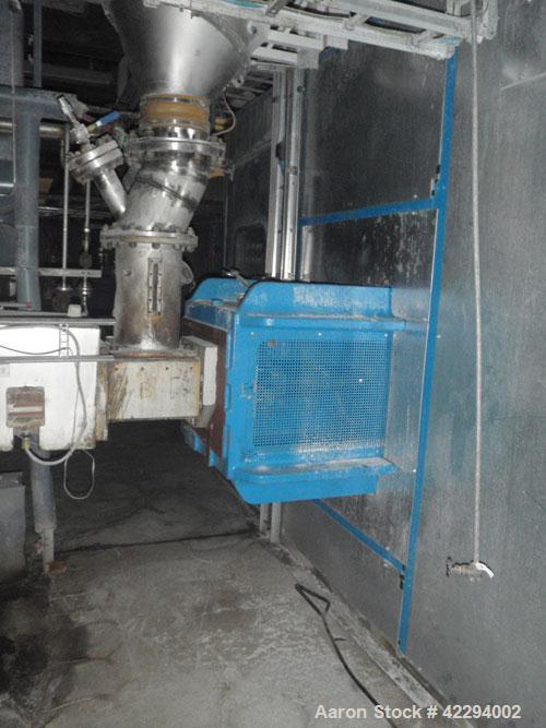 "Used-Werner Pfleiderer Twin Screw Extruder, type ZSK170. 6.63"" (170 mm) diameter screws, side by side. Max screw speed 120 r..."