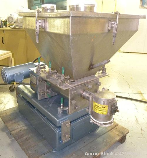 Used- Werner Pfleiderer 57mm Twin Screw Extruder, Type ZSK57. Co-Rotating intermeshing side by side screw design. 7 Barrel s...