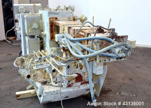 "Used- Werner & Pfleiderer 70mm Twin Screw Extruder, Type ZSK70F-175E. Approximate 18 to 1 L/D ratio. Approximate 40-1/2"" cen..."