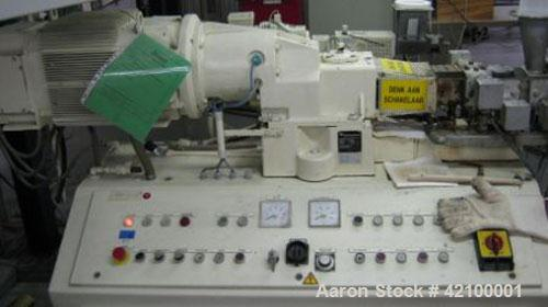 Used- Coperion Werner & Pfleiderer Lab Size Twin Screw Extruder, type ZSK30, 30 mm diameter screws, 34:1 L/D, co-rotating, 9...