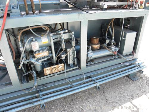 "Used- American Maplan Approximate 62mm Counter-Rotating Twin Screw Extruder, Model DSK62. (2) 2.44"" Diameter x 48"" long inte..."