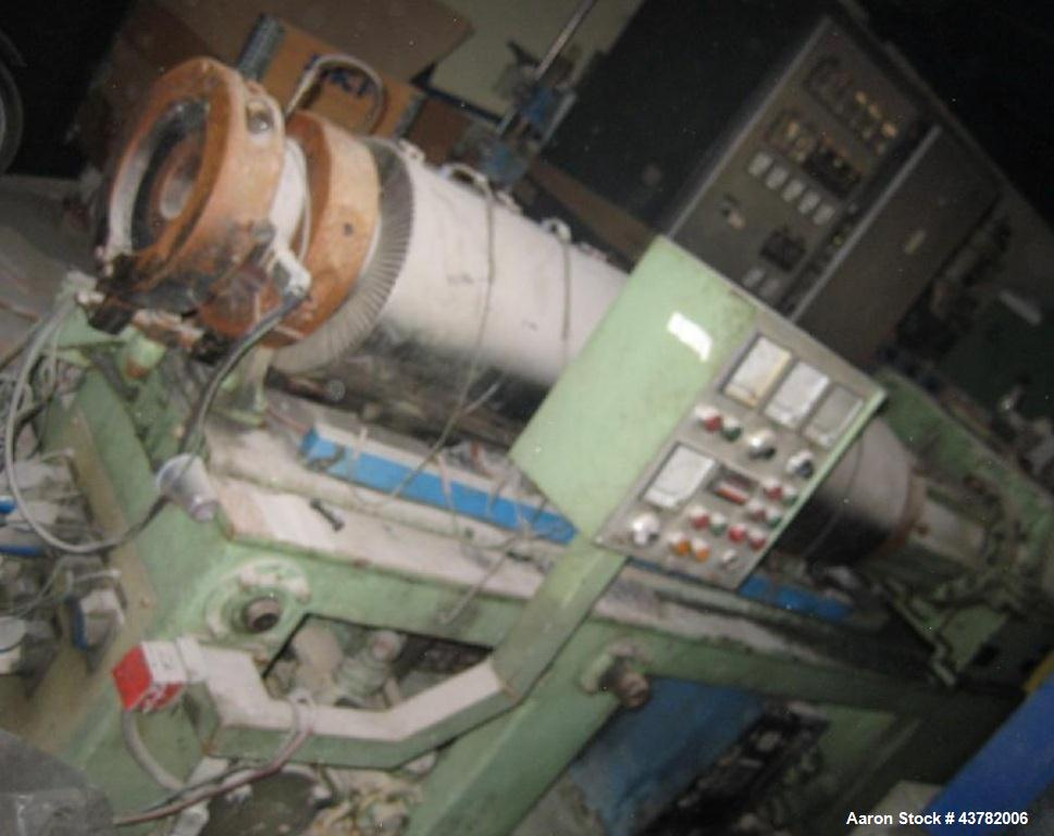 Used-Bandera Counter-Rotating Twin Screw Extruder