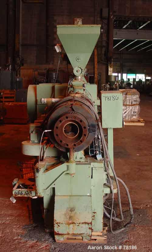 Used- Bandera 130 mm Twin Screw Extruder