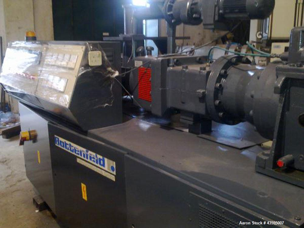 Used-Battenfeld BEX 90-22d Twin Screw Extruder