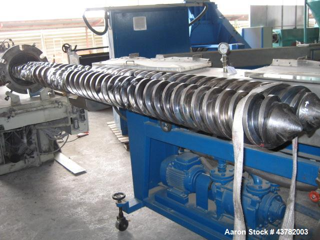 Used-Bausano Counter-Rotating Twin Screw Extruder