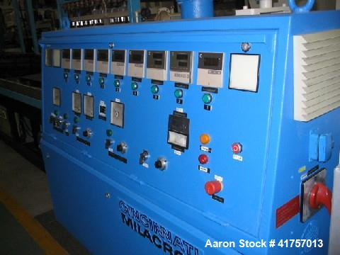 Used-Cincinnati CM 55 Counter-Rotating Twin Screw Extruder for PVC