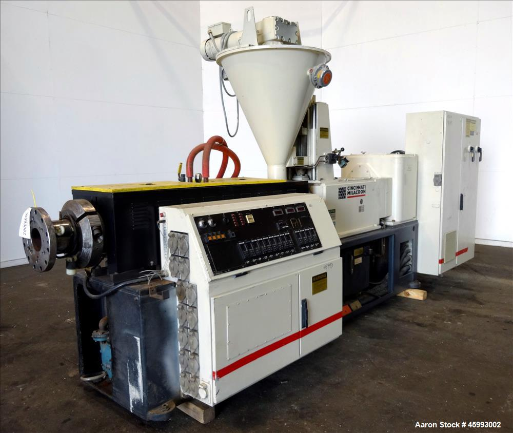 "Used- 2000 CINCINNATI MILACRON ""CM-80HP"" Twin Screw Extruder"