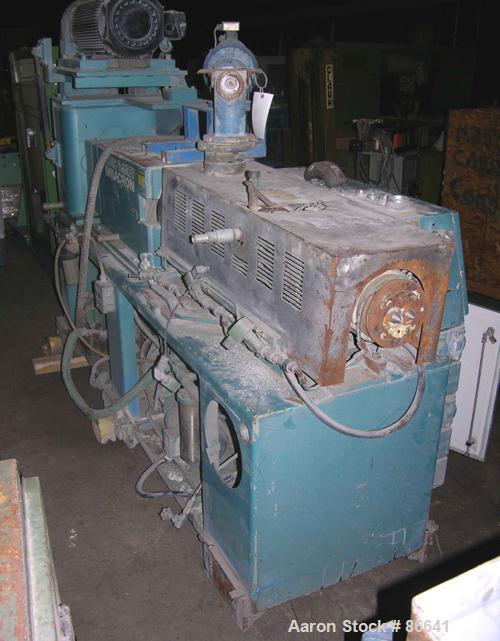 Used- Cincinnati Milacron 55mm Twin Screw Extruder, Model CM55