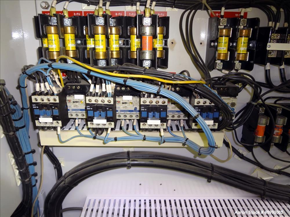 "Used- 1998 CINCINNATI MILACRON ""E55 PINNACLE"" Twin Screw Extruder"