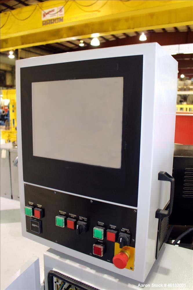 Used- Cincinnati Milacron TC Series 55mm Counter-Rotating Twin Screw Extruder