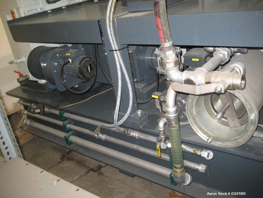 "Used-Cincinnati Titan 45 Conical Twin Screw Extruder for WPC profiles and PVC pipe. Screw diameter 1.77""/3.81"" (45/97 mm). M..."