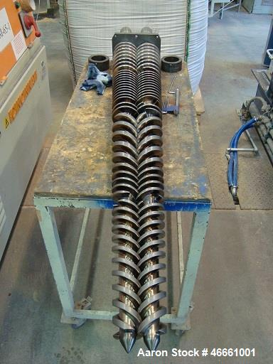 Used- Cincinnati, Model Titan 58. Outputs up to 150 kg/h for PVC profile Outputs up to 270 kg/h for PVC pipe Ideal for PVC p...