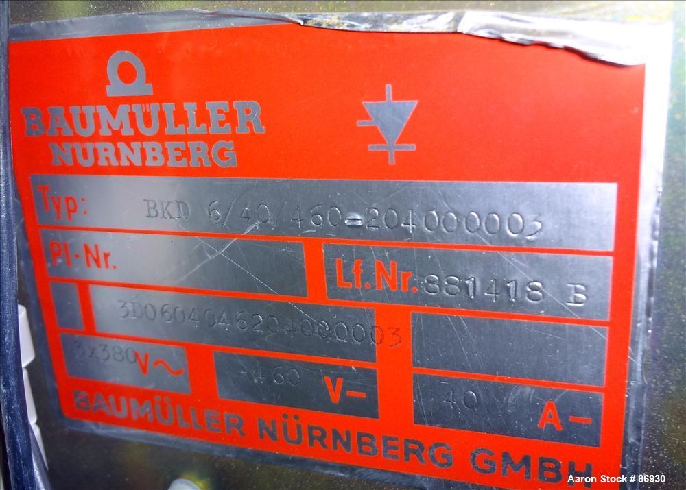 Used- Leistritz 34mm Twin Screw Extruder, Model LSM30.34