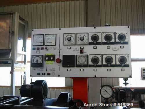 USED: Paul Leistritz compounding system consisting of: (1) feedingsystem mounted on unit; (1) Paul Leistritz twin screw extr...