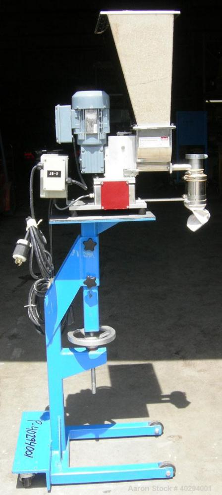 Used- Leistritz Counter-Rotating 18 mm Twin Screw Extruder, Model MIC18/GG-40D. 8 Barrel sections, electrically heated, wate...