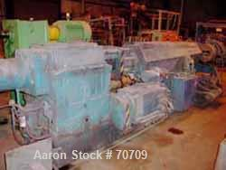 "USED- Leistritz Twin Screw Extruder, Counter-Rotating Intermeshing, Model TS110. (2) 4.375"" diameter screws, approximate 24:..."