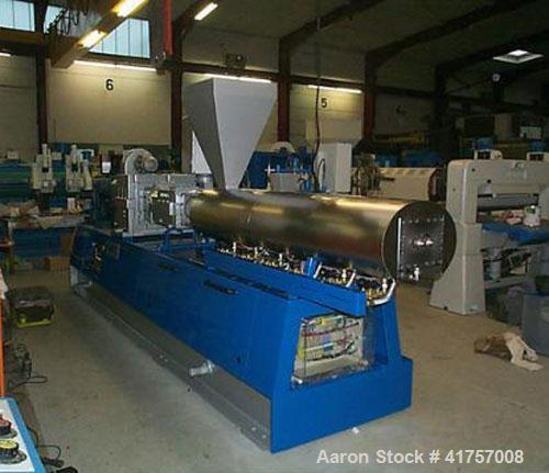 Unused-New-Plama ZSB 70 Twin Screw Extruder for PE, PP, PS and ABS