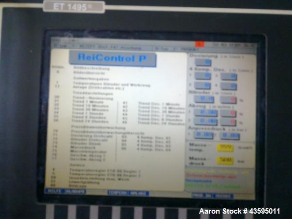 Used- Reifenhauser BT-550-2-50k Twin-Screw Extruder
