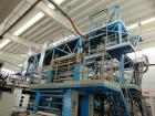 Used-Ghioldi Co-Extrusion Plant made of Nr 2 extruders, diameter 55 mm, 78 kW with Oemer inverter, 30 L/D + Nr 1 extruder di...