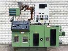 Used- Krauss Maffei Counter-Rotating Conical Twin Screw Extruder, Model KMD-2-50-KK. Screw diameter 2