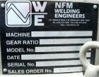 USED: Welding Engineers twin screw extruder. 50 mm (2