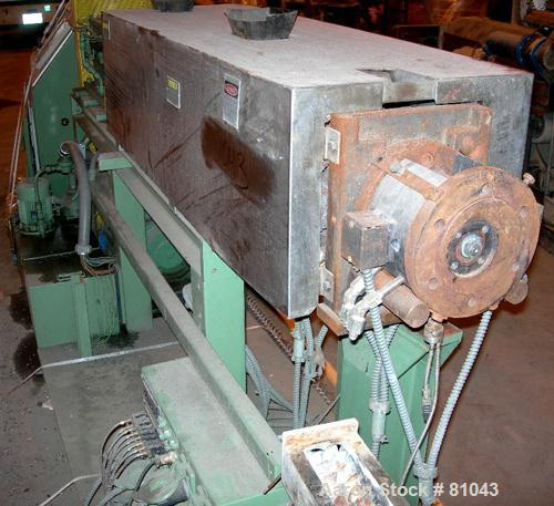 Used: Welding Engineers Twin Screw Extruder, 30mm screw diameter, Model HT30MM